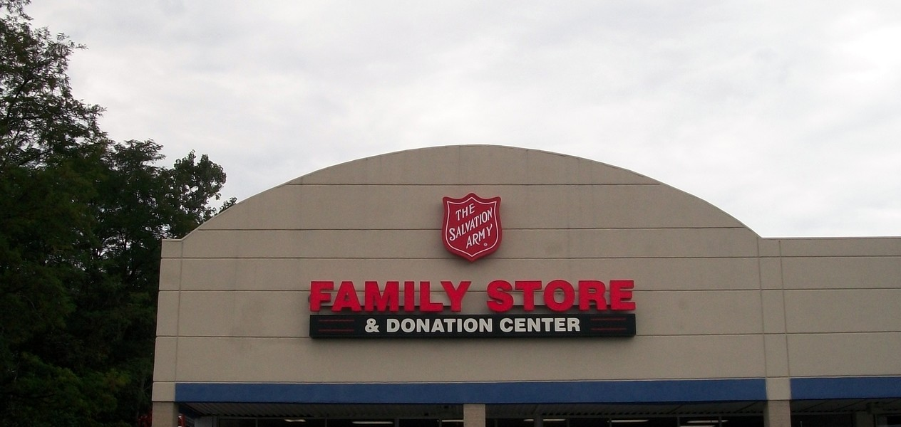 Salvation Army- Channel Letters