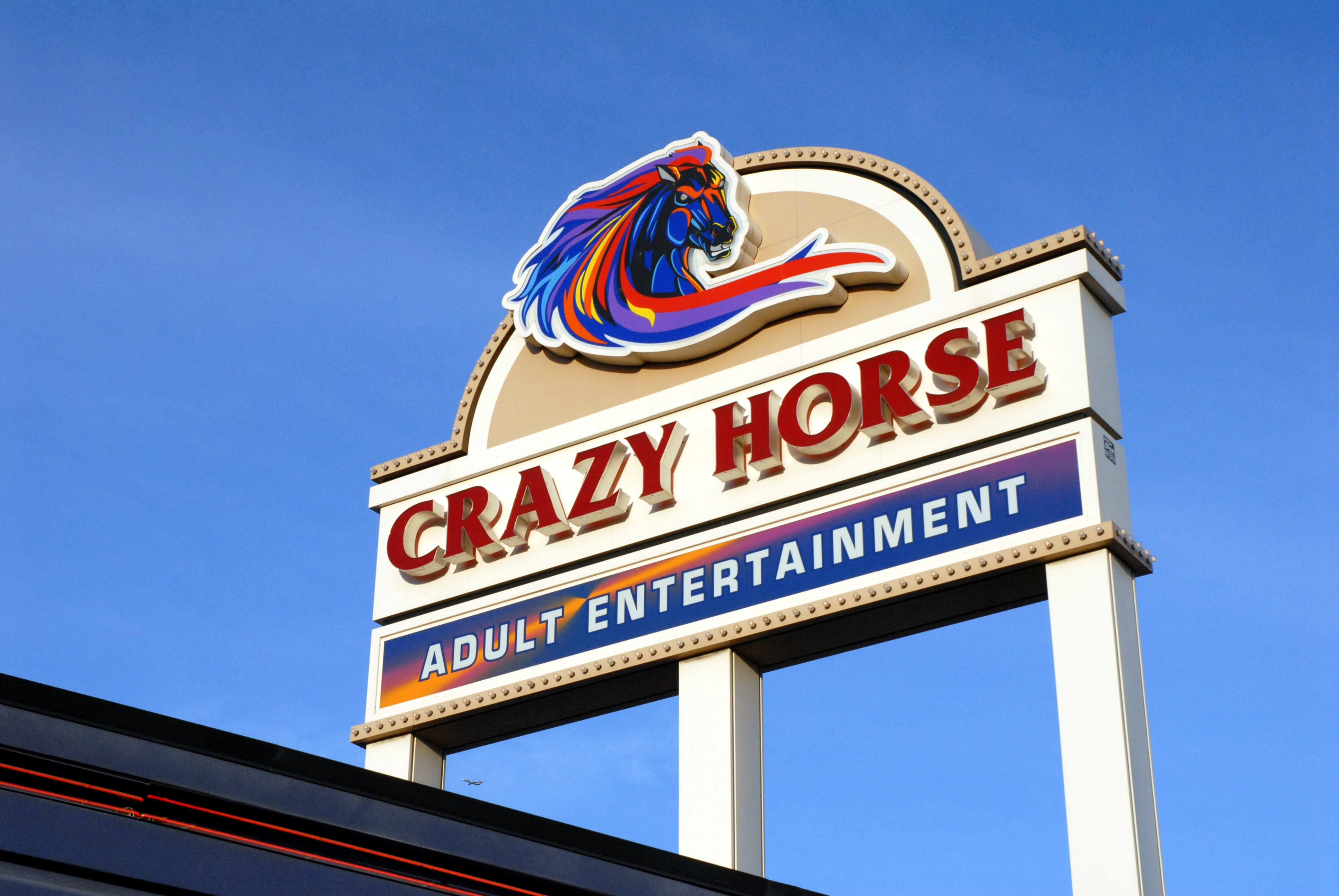 Crazy Horse Pole Sign