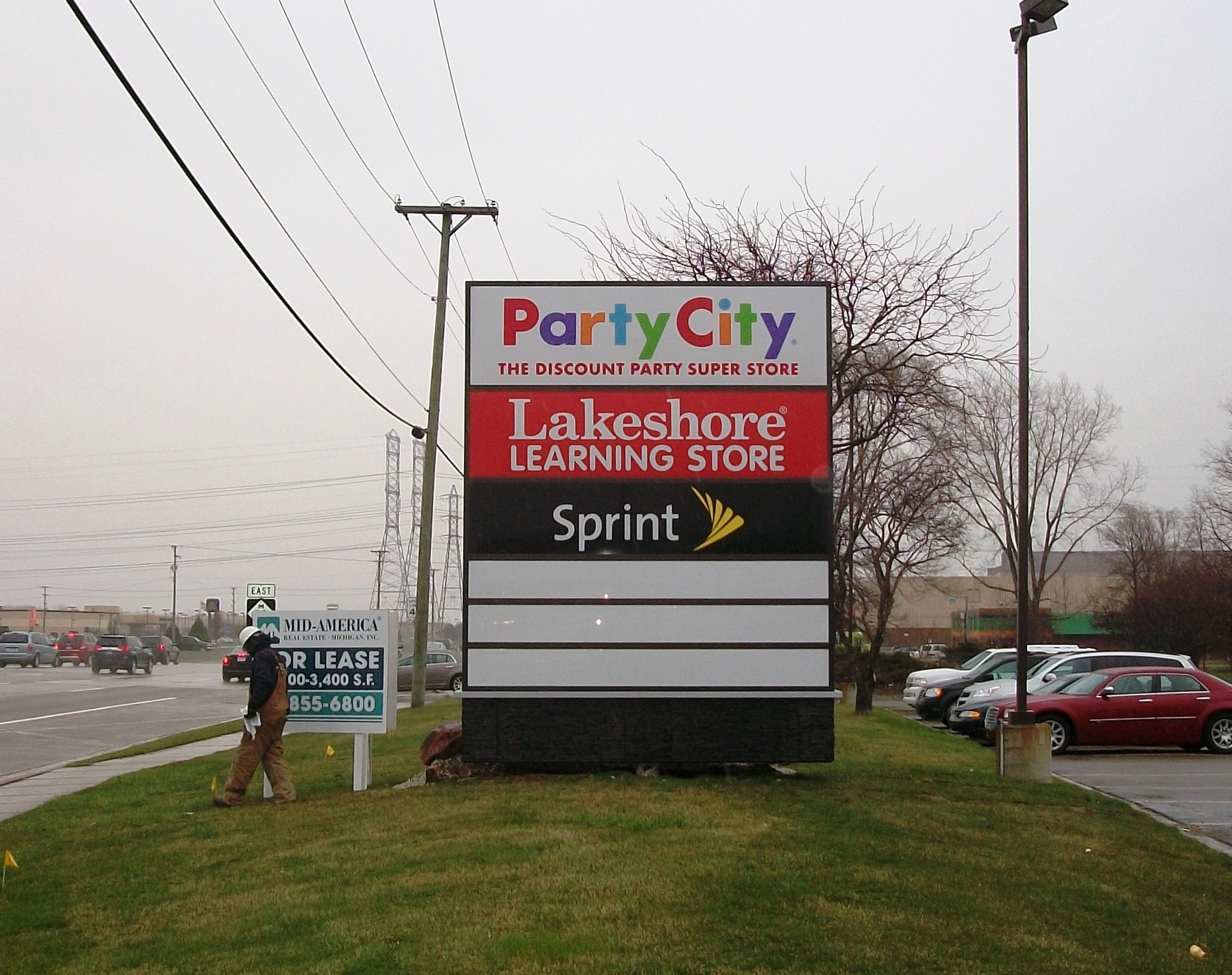Party City Pole Sign