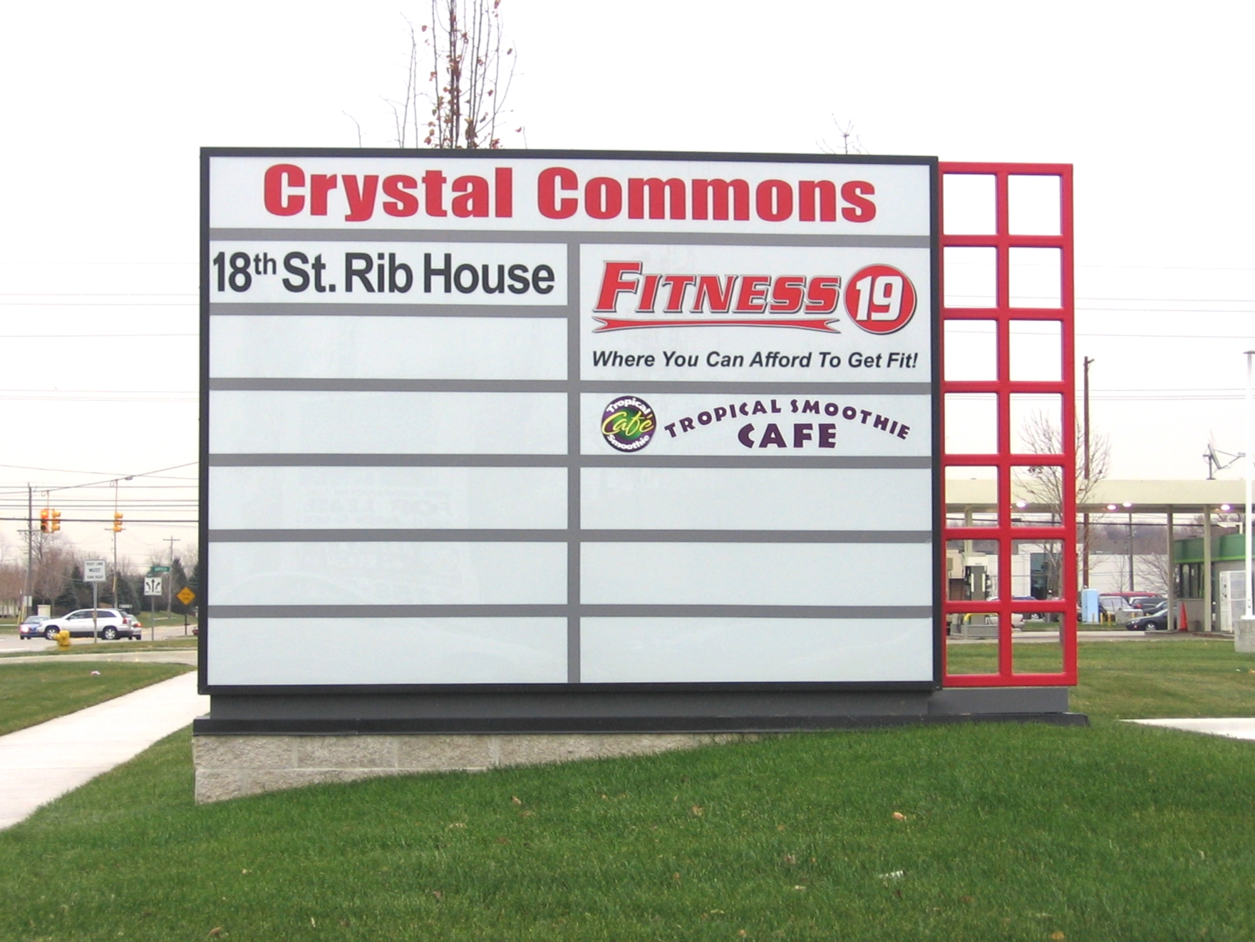 Crystal Commons | Lawn Sign | Signage