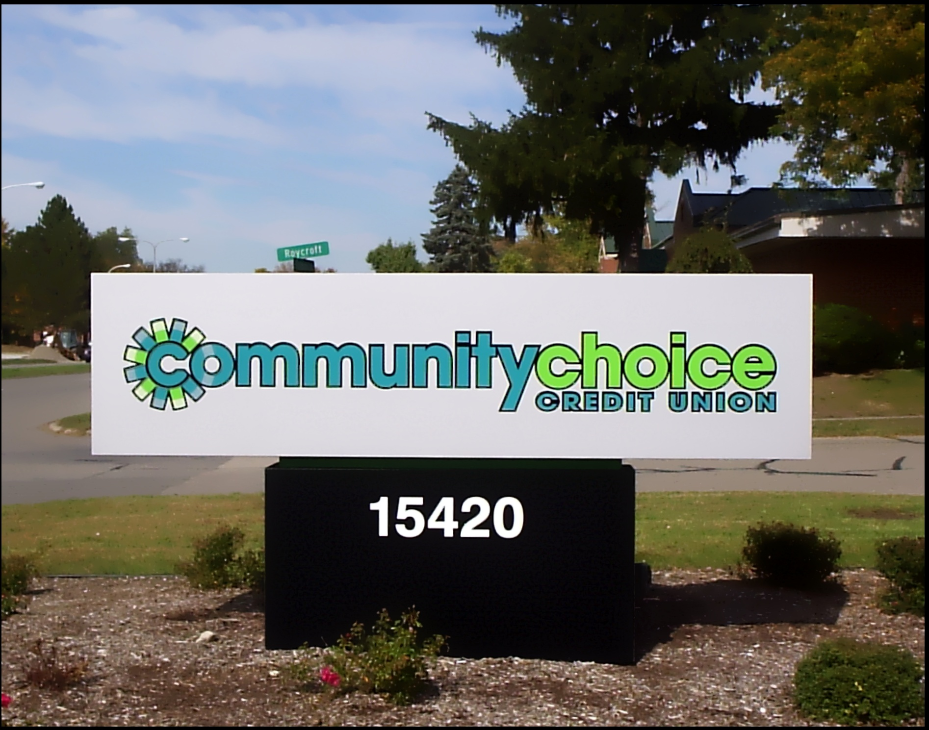 Community Choice Credit Union | Lawn Sign | Signage