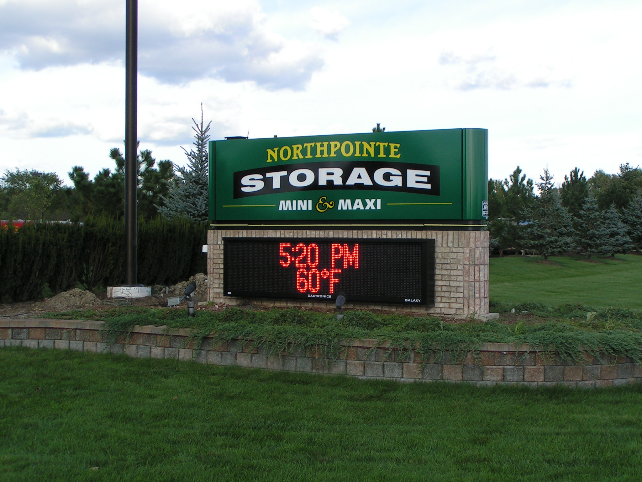 Northpointe Storage | Lawn Sign