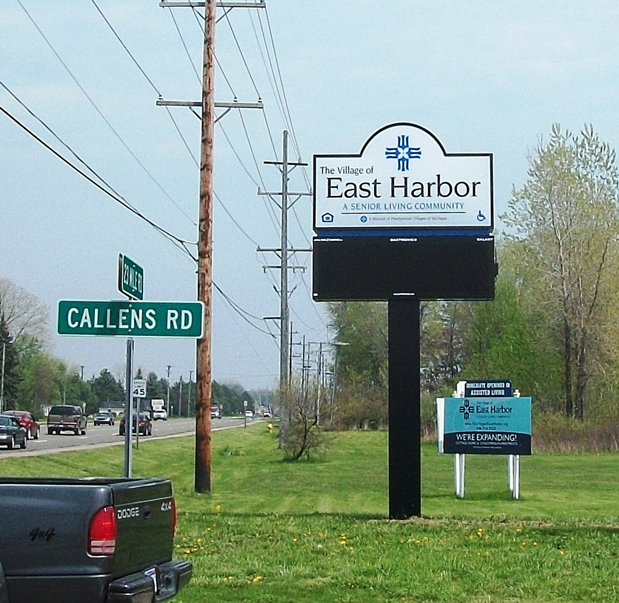 Village of East Harbor- Electronic Display