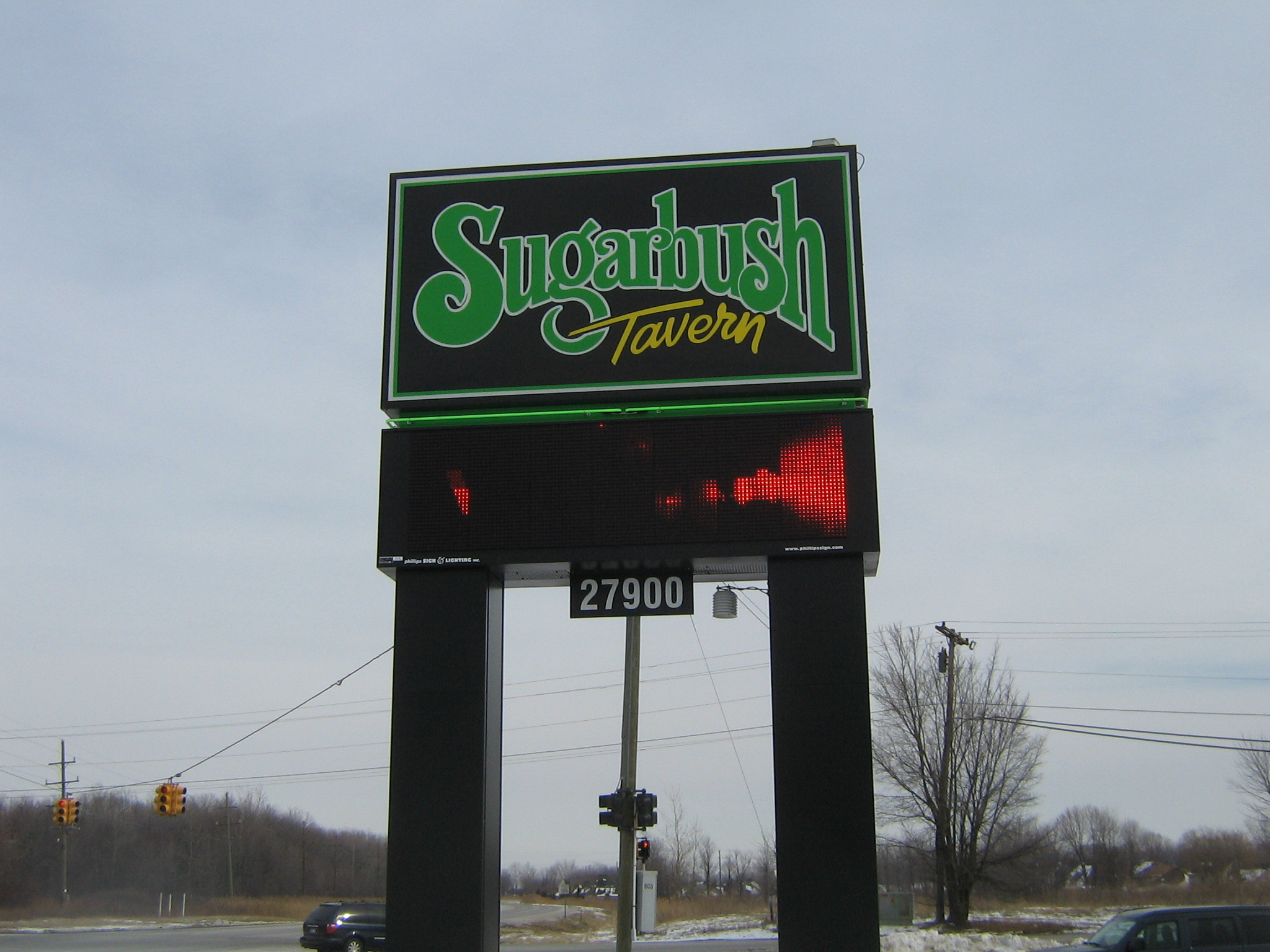 Sugarbush Tavern- Electronic Display