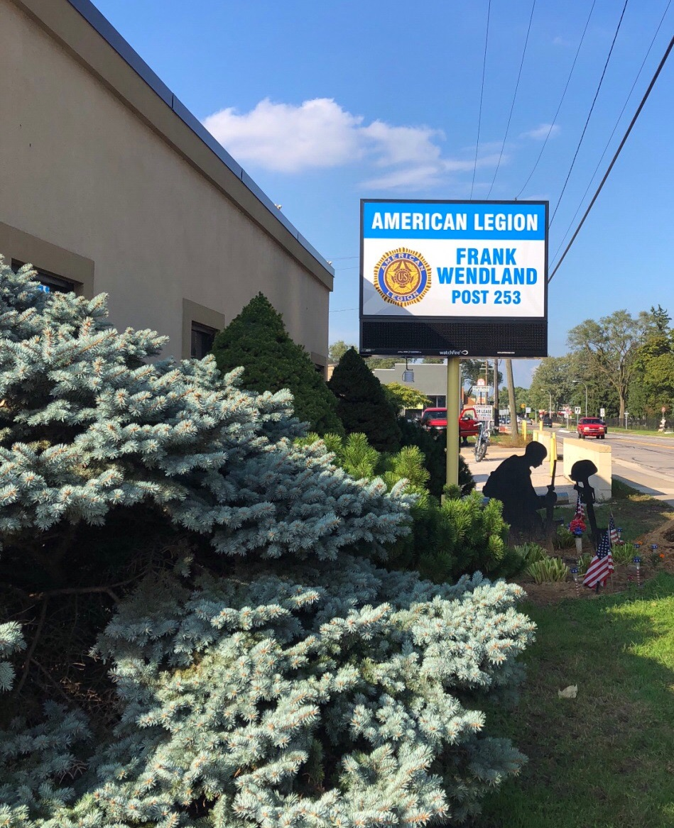 American Legion - Royal Oak - Electronic Message Center