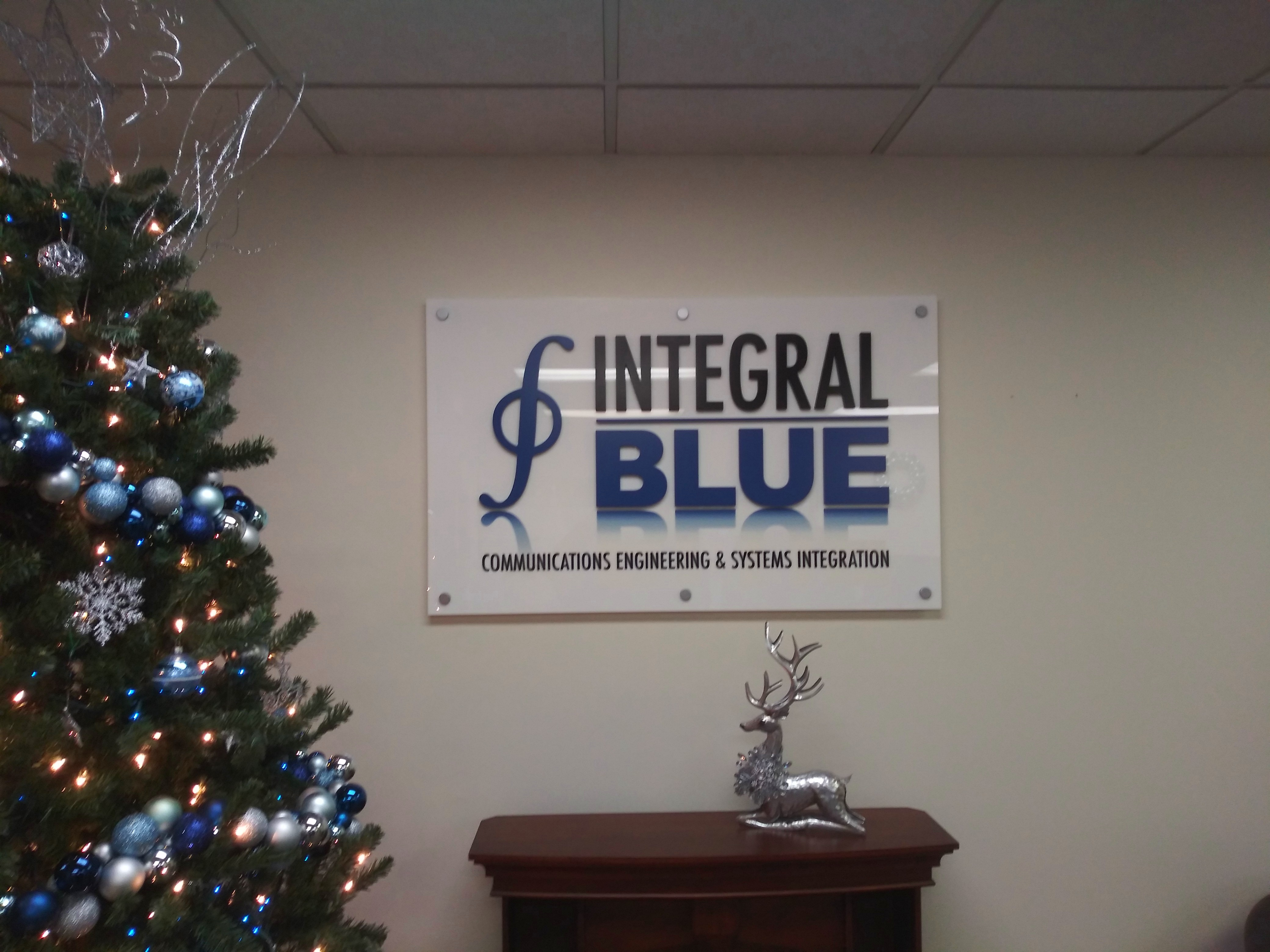 Integral Blue - Interior Sign - Madison Heights