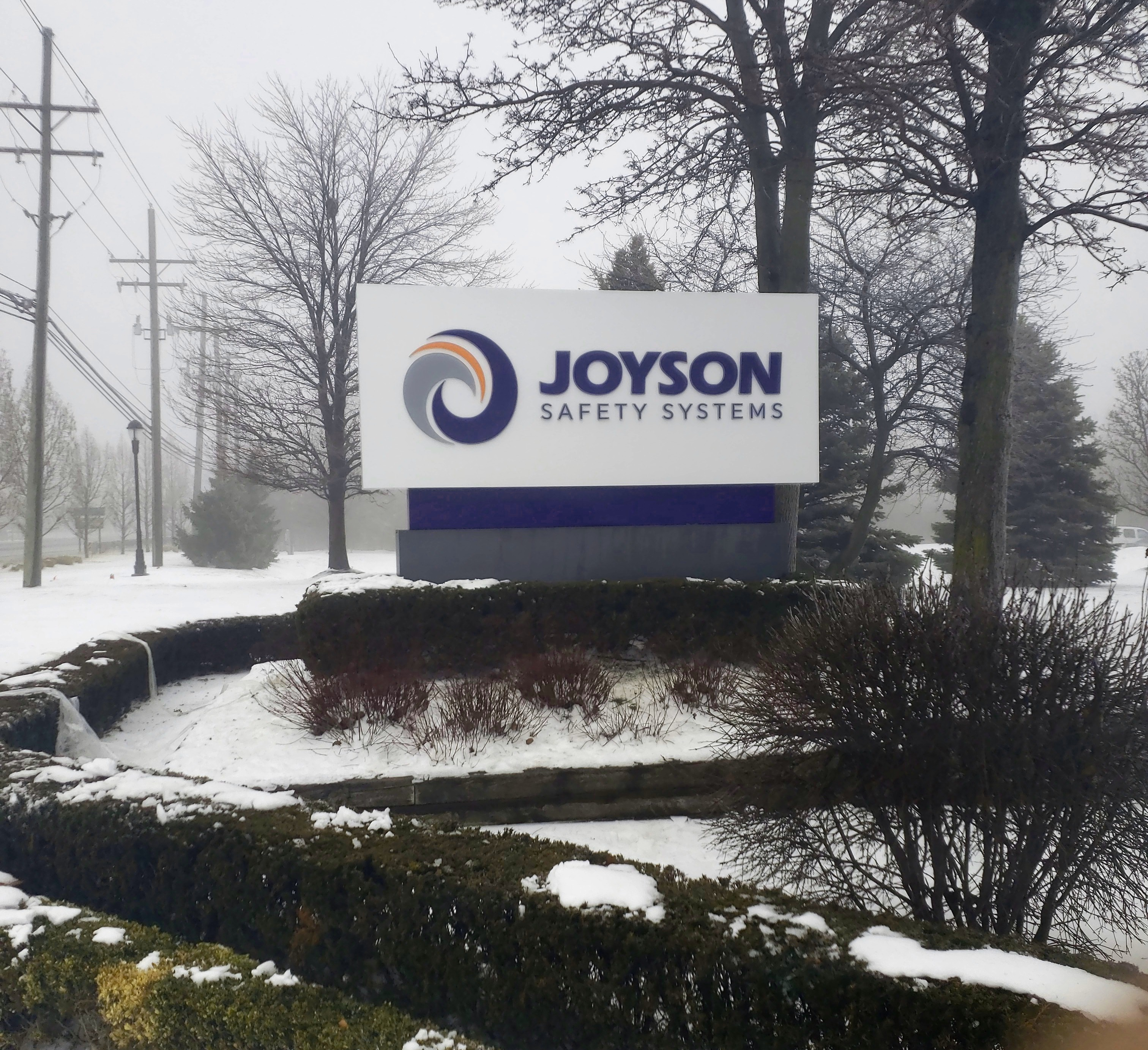 Joyson -Monument Sign -  Auburn Hills