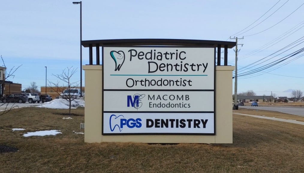 PGS Dentistry/Pediatric Dentistry - Monument Sign - Chesterfield