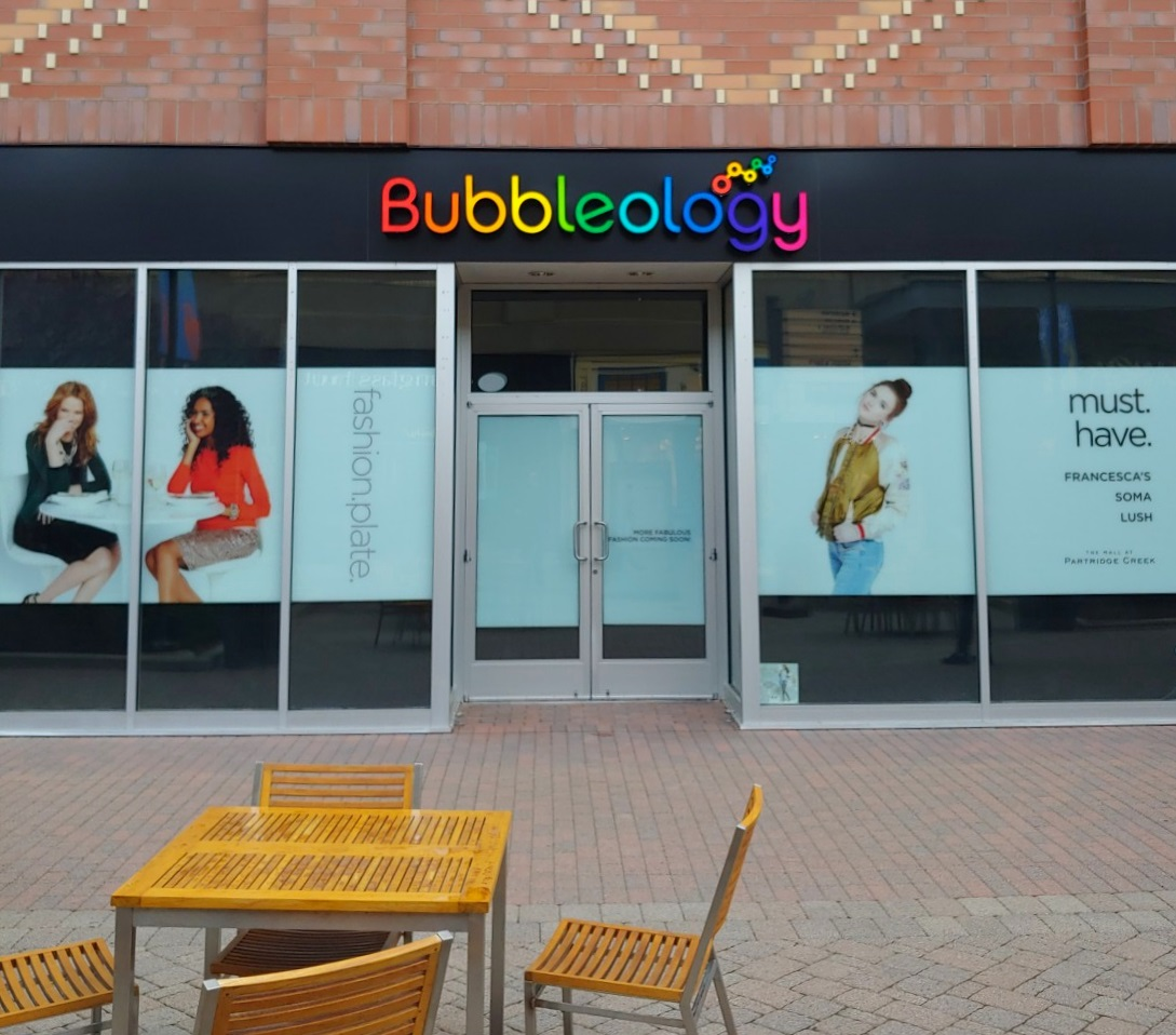 Bubbleology at Partridge Creek in Clinton Township