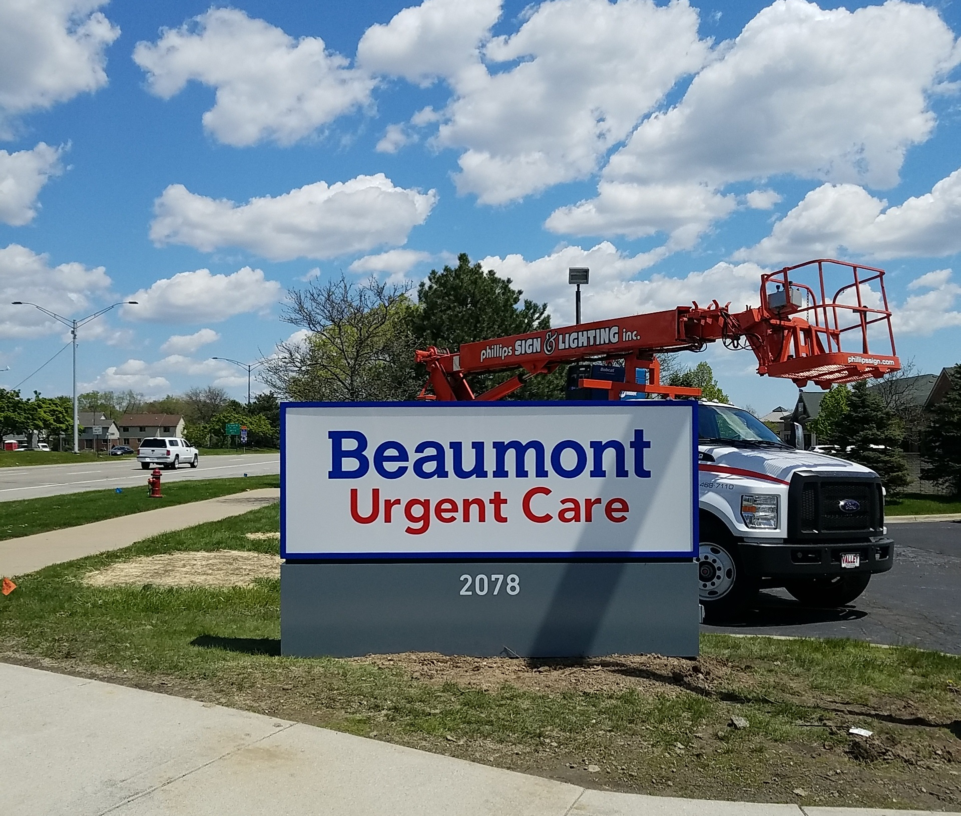 Beaumont Urgent Care - Monument Sign
