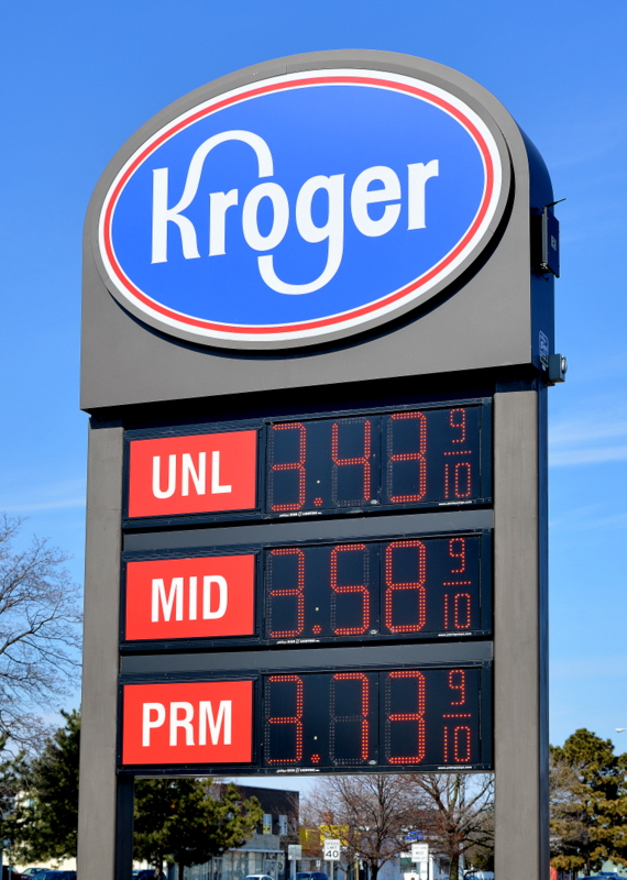 Kroger Michigan Pole Sign