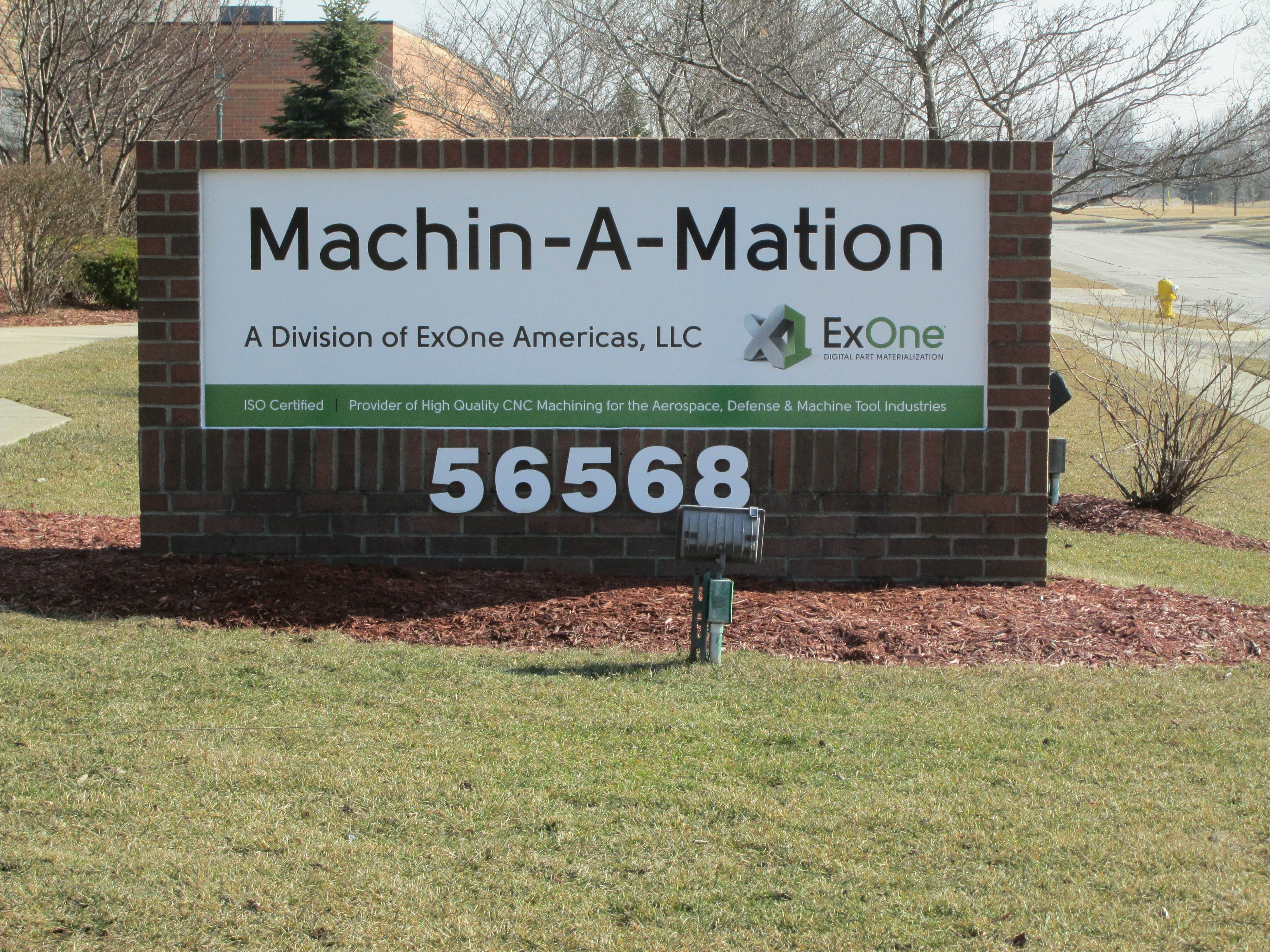 Machin A Mation | Lawn Sign