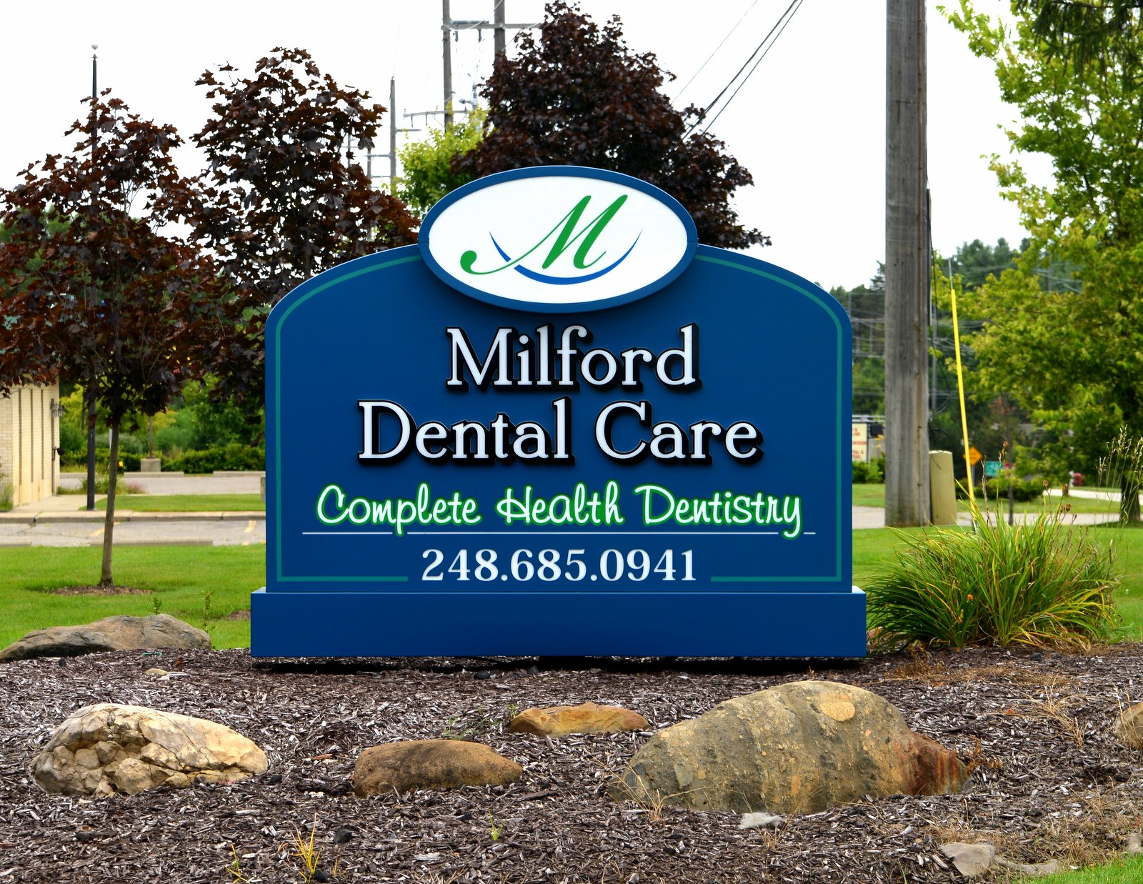 Milford Dental Care Ground Sign