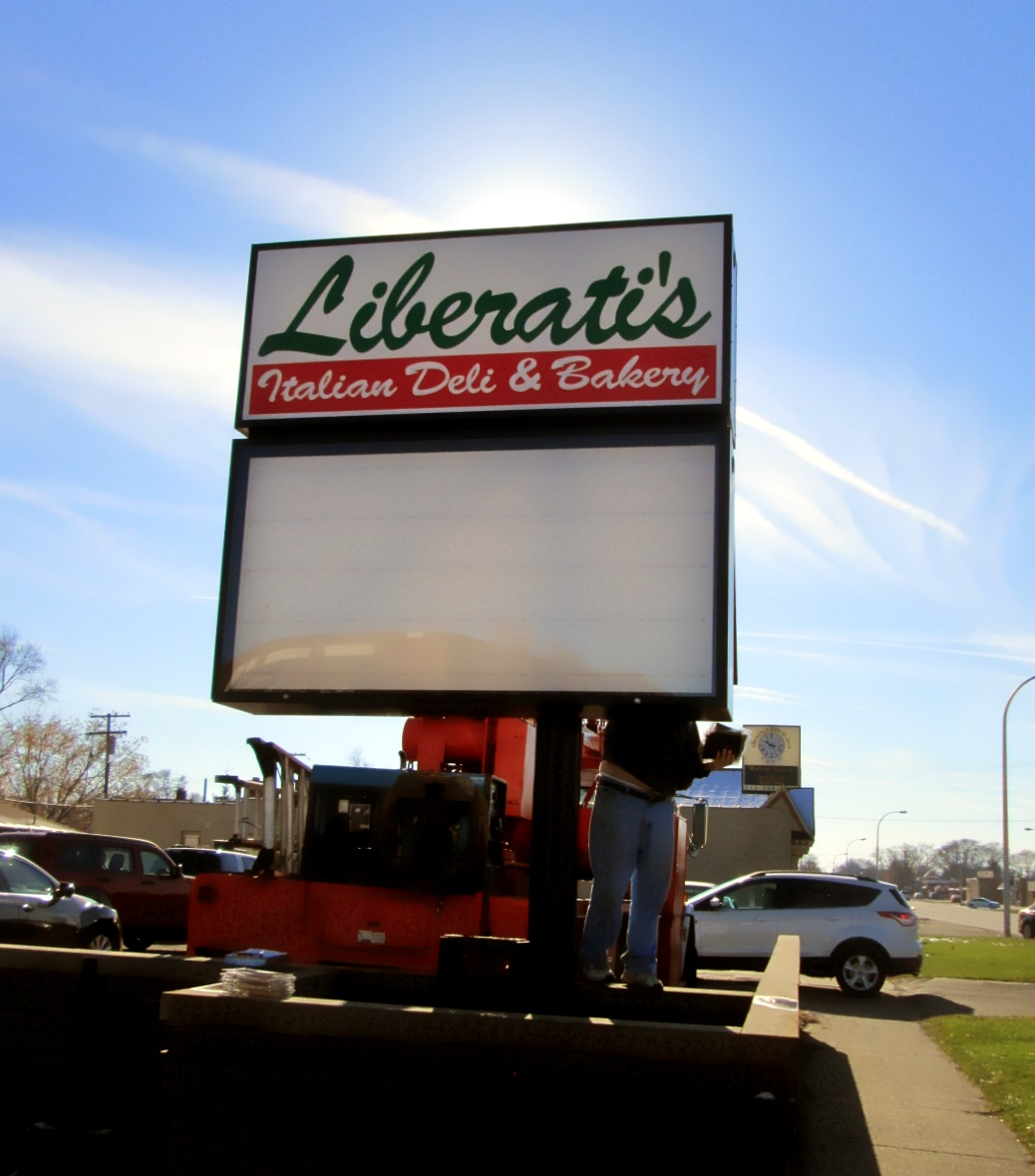Liberati's Deli-Pole Sign
