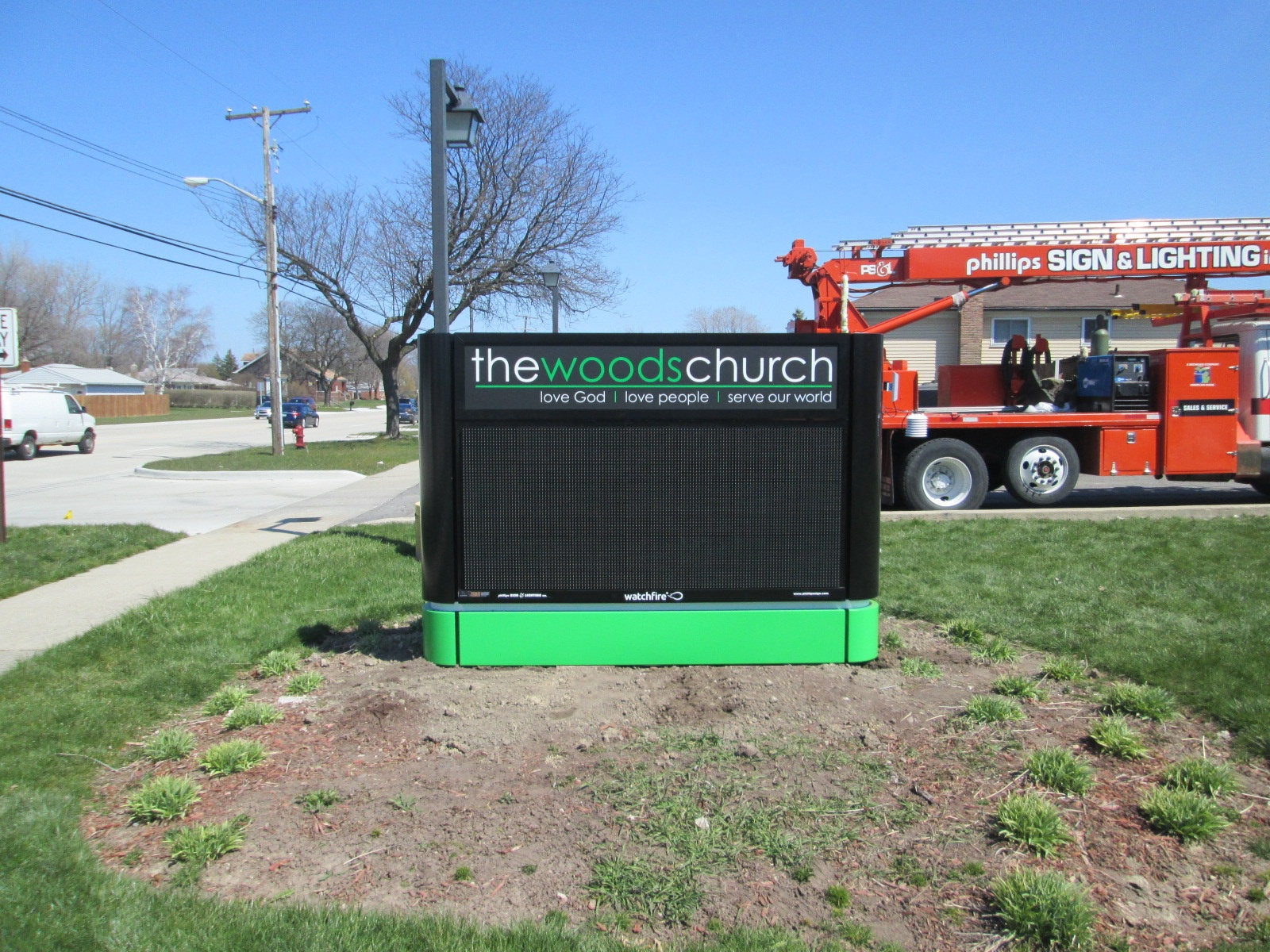 The Woods Church | Lawn Signs