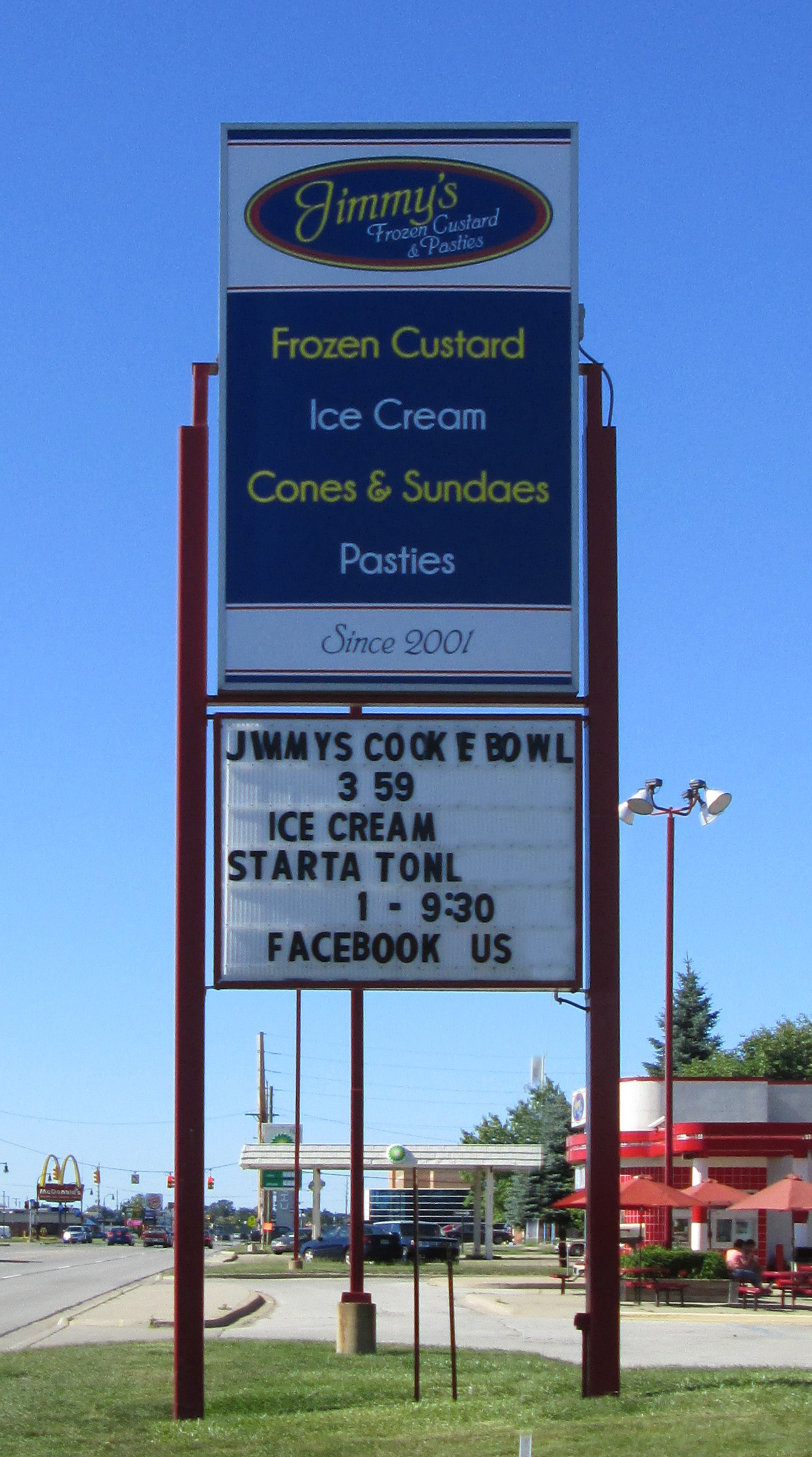 Jimmy's Frozen Custard- Port Huron